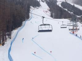 Cortina Italija, super-G proga, FMC.