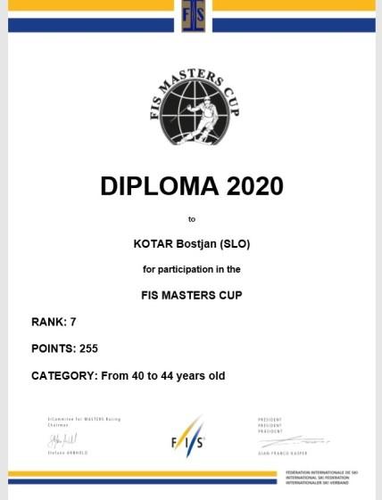 Diploma FIS BK 2020